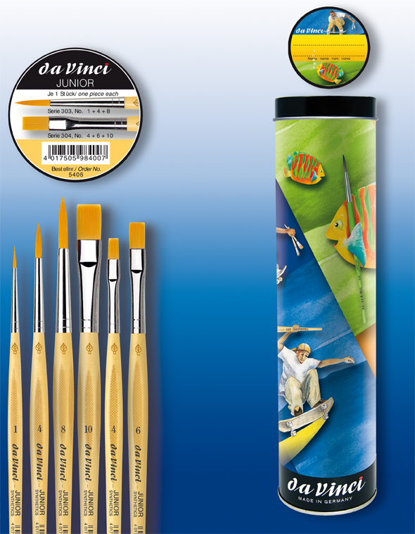 da Vinci Serie 5406 JUNIOR Pinseldose