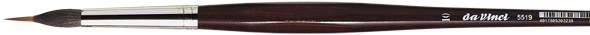 da Vinci Series 5519 Liner brush, with inlaid, extra long needle-sharp tip