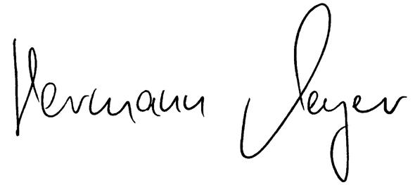 Unterschrift Meyer