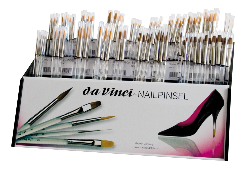 NAIL-ART Sets and counter displays - Assortment - Nail Brushes - www ...